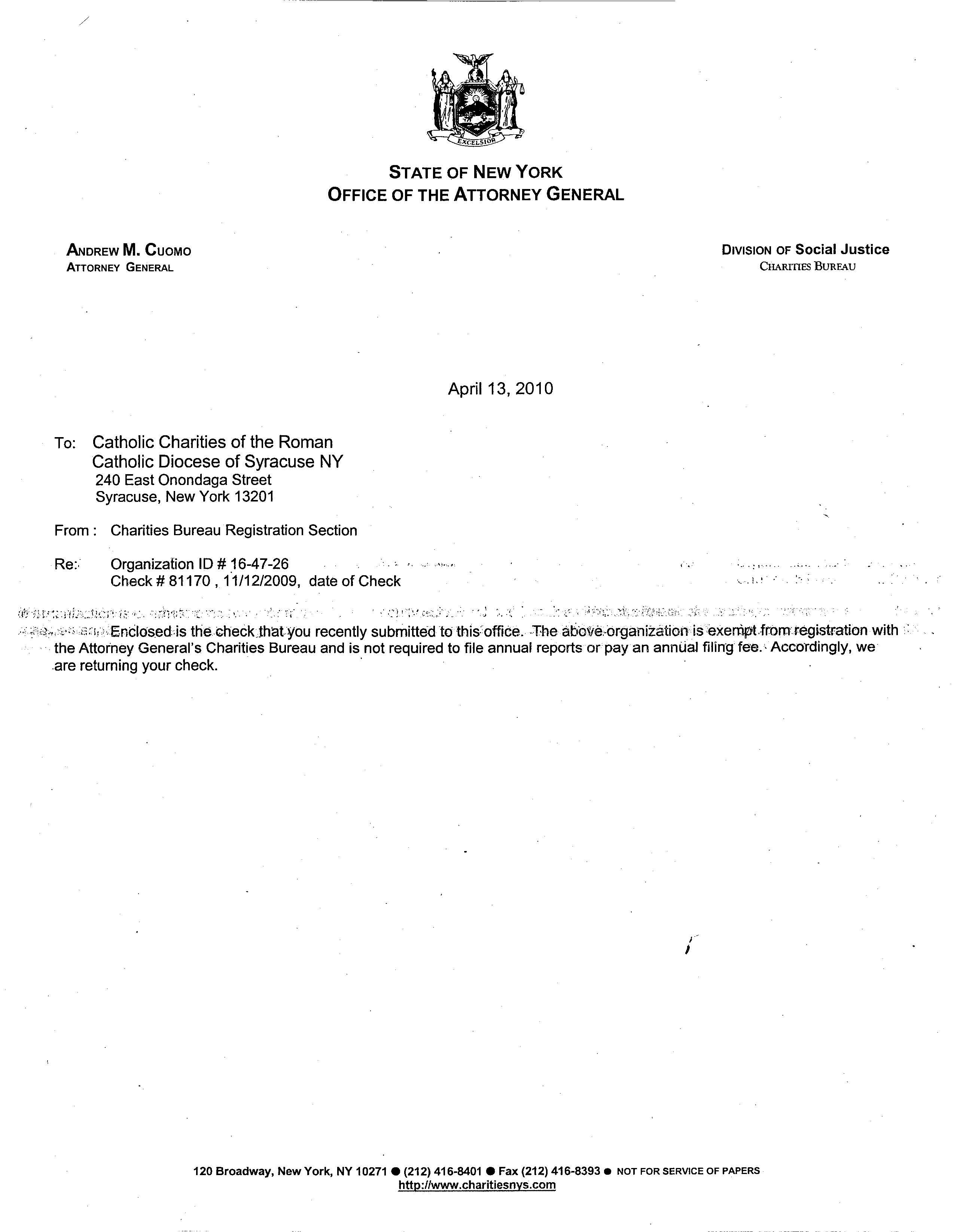 4 13 10 ag letter returning 12 31 08 char500 because exempt from filing 11 8 12g aiddatafo Gallery